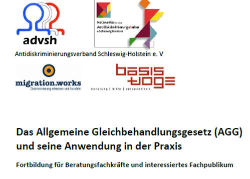 Einladung zur AGG-Fortbildung in Schleswig-, 20.3.2014 (Einladung herunterladen)