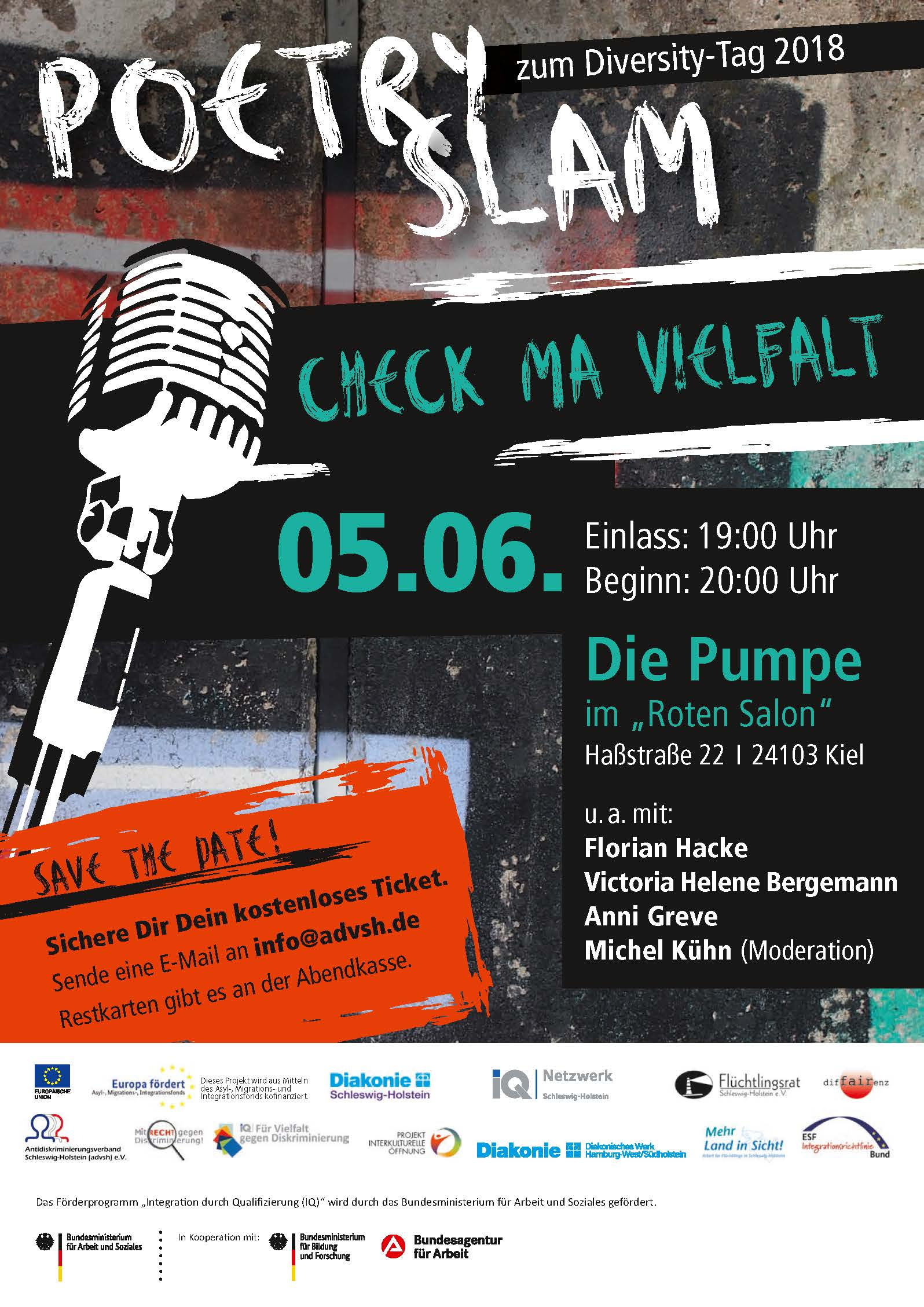 "Podcast zum Poetry Slam ""Check Ma Vielfalt"""