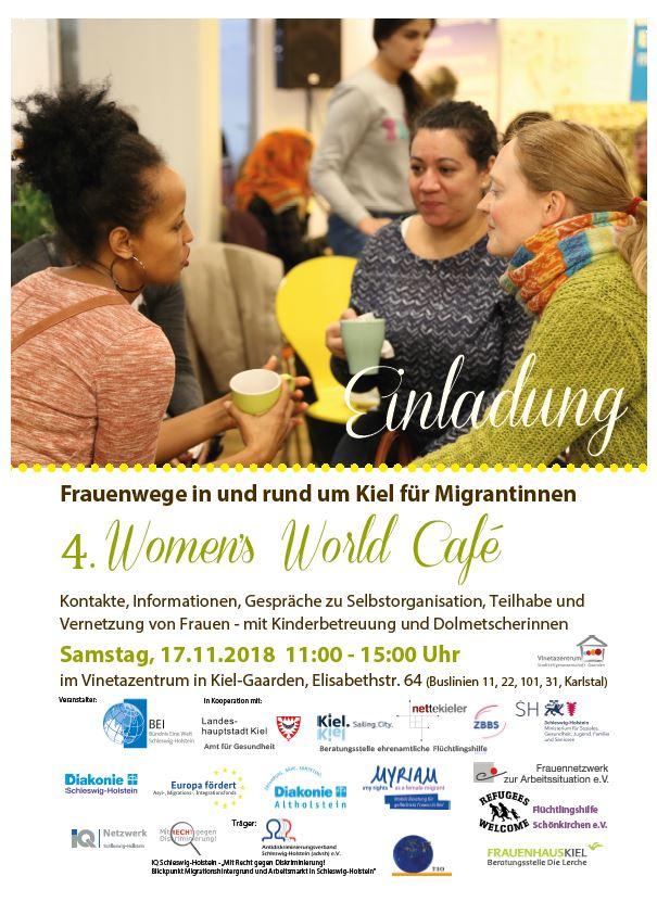"""Erfolgreiche Veranstaltungsreihe """"Women's World Café"""" – Empowerment für Migrantinnen"""