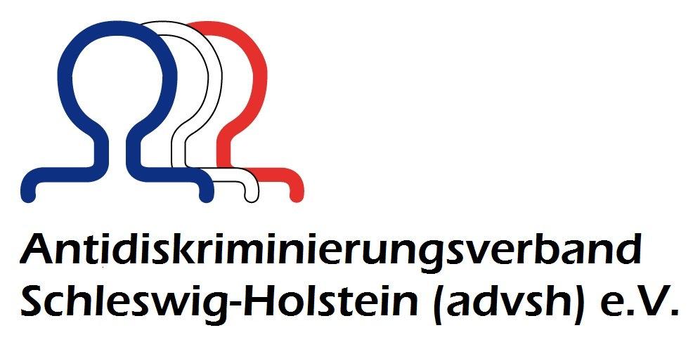 Logo: Antidiskriminierungsverband Schleswig-Holstein (advsh) e.V.