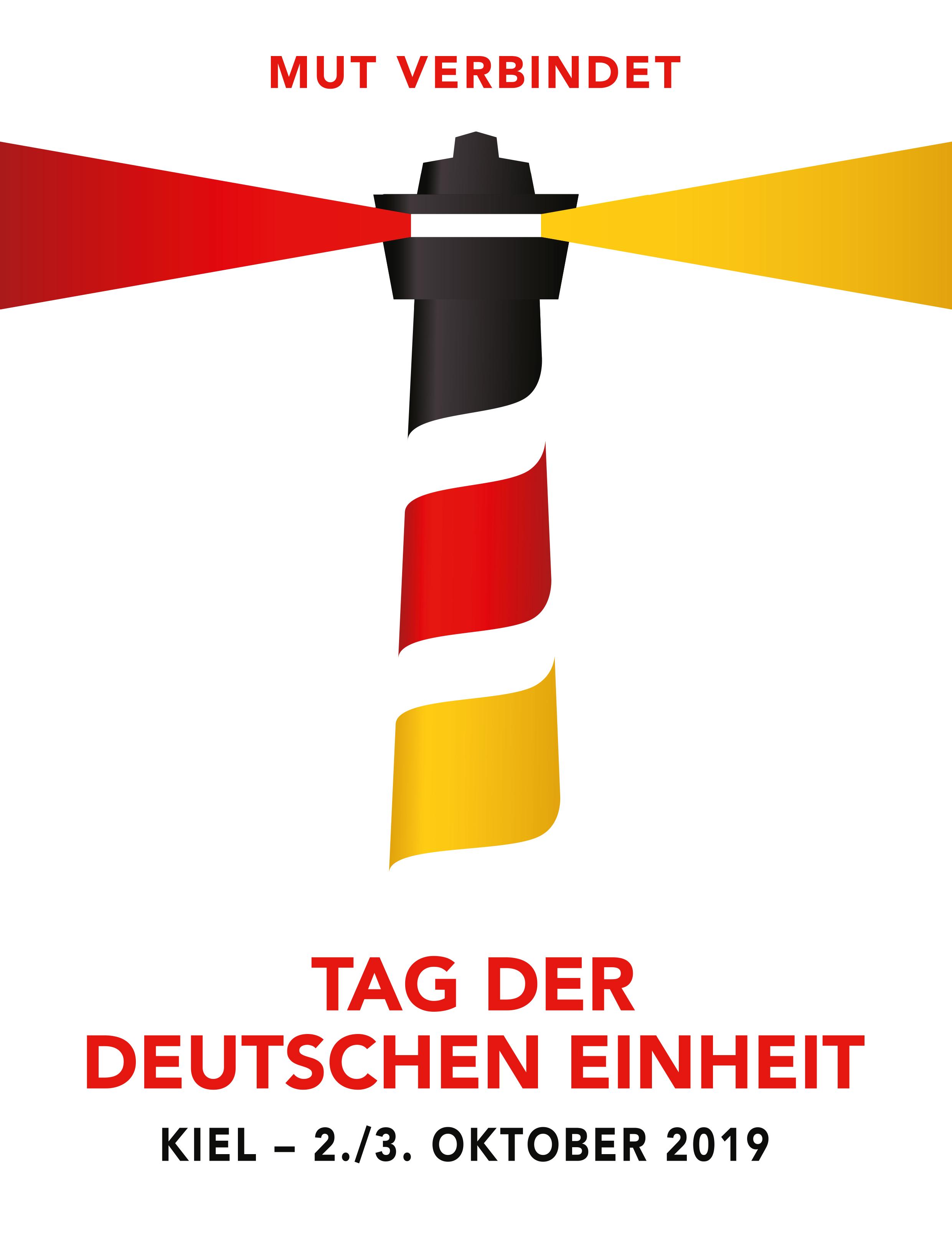 """""""Mut zur Vielfalt und Solidarität"""" ist unser Motto zum """"Tag der Deutschen Einheit 2019"""""""