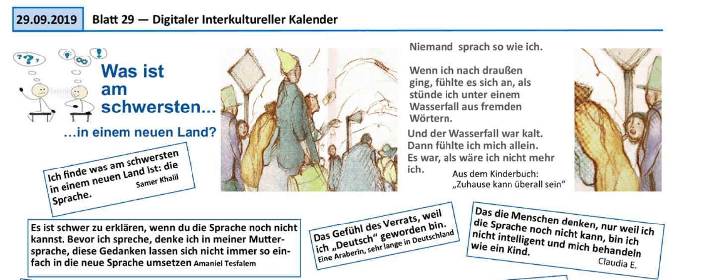 Faire Integration beteiligte sich am Digitalen Interkulturellen Kalender im Kreis Nordfriesland