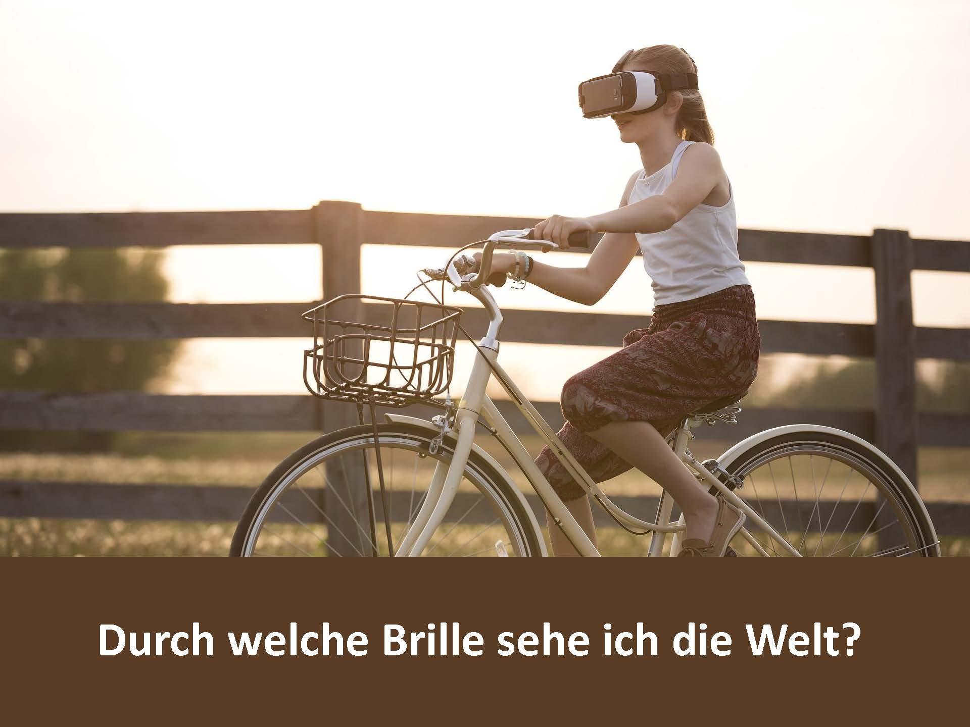 """Online Workshop """"Unconscious Bias – Durch welche Brille sehe ich die Welt?"""" am 12.01.2021"""