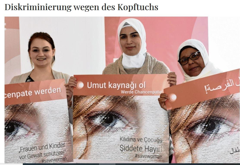 Kooperationsveranstaltung zu Diskriminierung muslimischer Frauen am 23.03.2019 in Neumünster