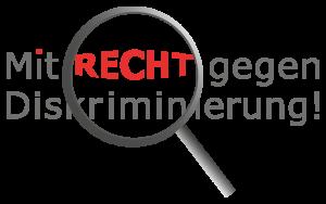 Logo: Mit Recht gegen Diskriminierung